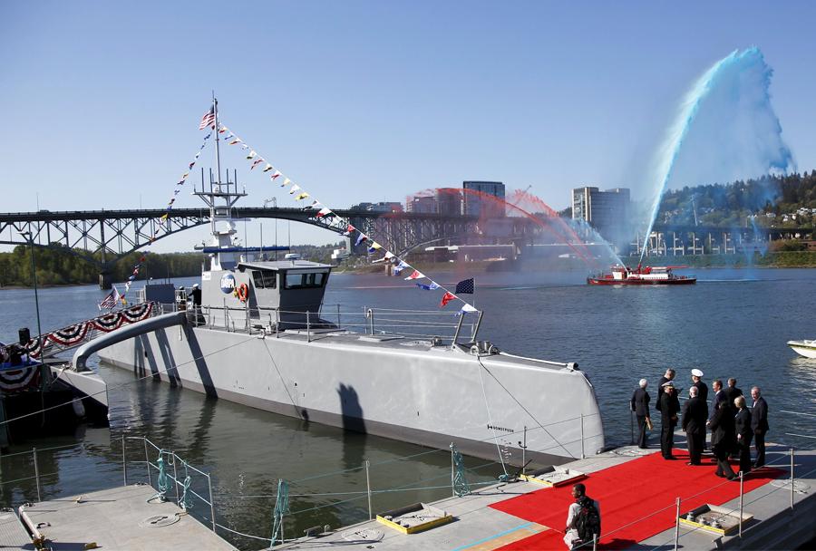 Ameriško protipodmorniško robotsko plovilo sea hunter