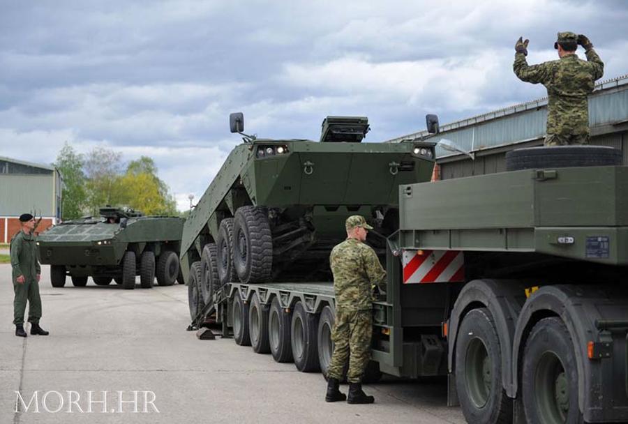 Patria AMV 8x8 - Hrvaška vojska