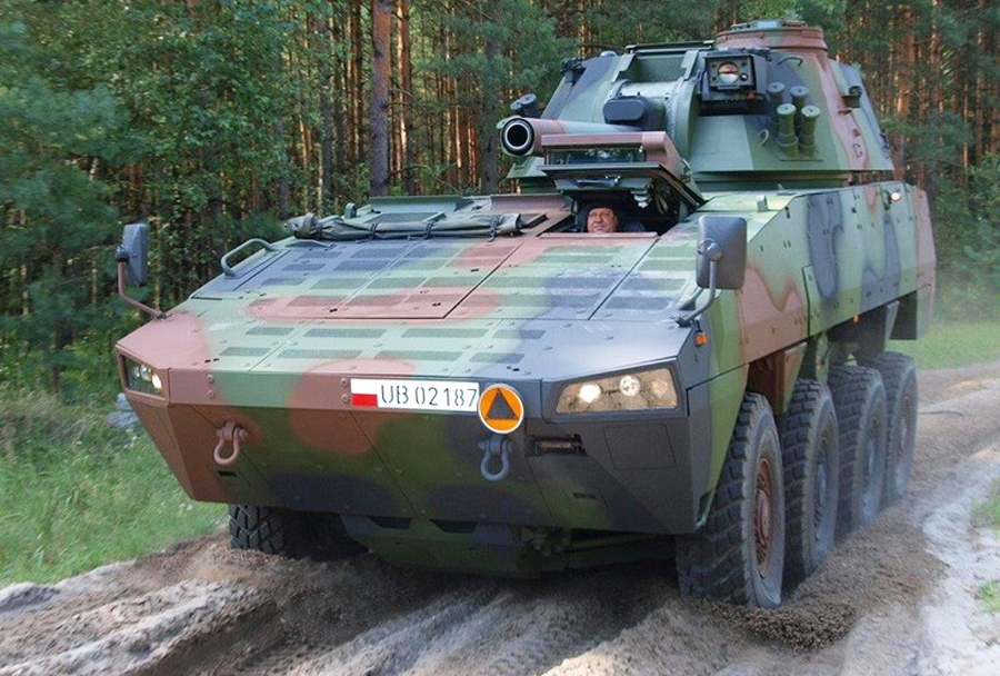 RAK M120K 8x8 z minometom (rosomak/Patria AMV)