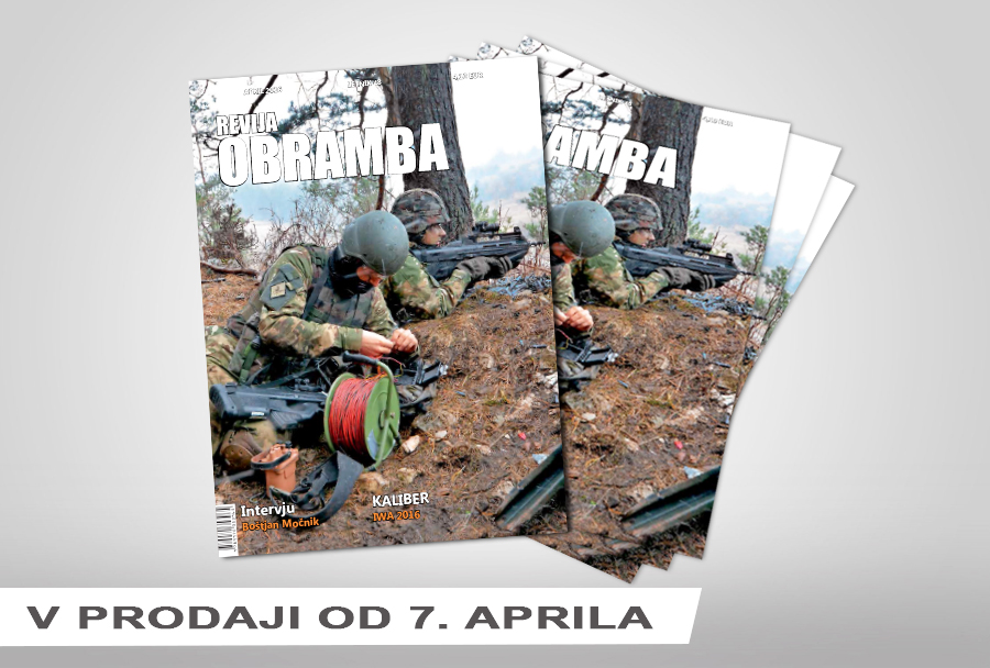 Revija Obramba april 2016
