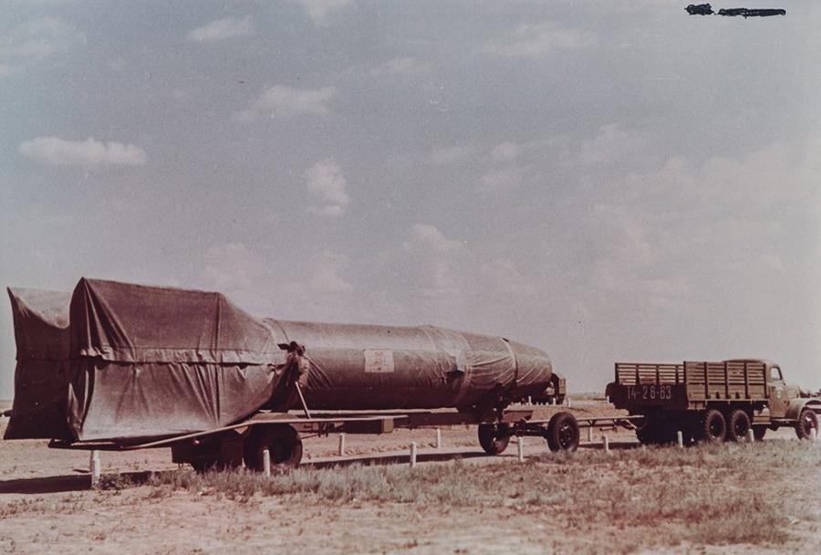 Izstrelišče  Kaputsin Yar - balistična raketa R-1