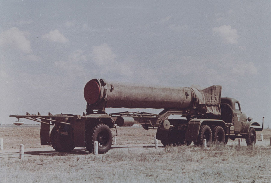 Izstrelišče Kaputsin Yar - raketa R-11 na tekoče gorivo