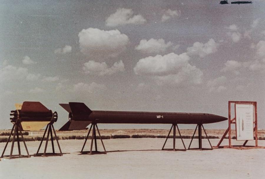 Sovjetsko raketno izstrelišče  Kaputsin Yar - raketa MR-1