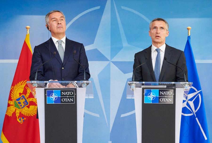 Črna Gora pristop v zvezo NATO