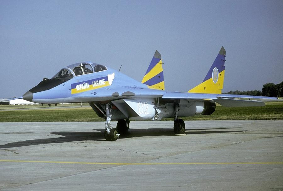 Ukrajinski lovec MiG-29UB