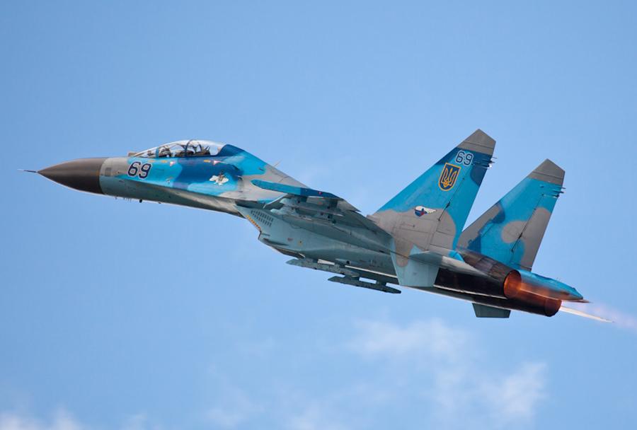 Ukrajinski lovec Su-27
