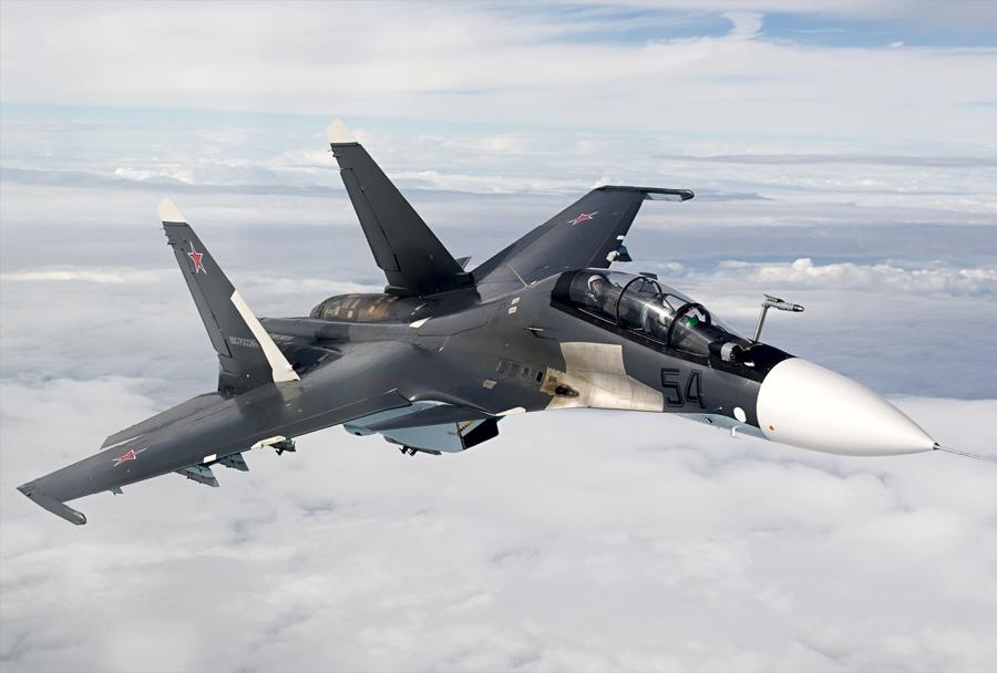 Lovec Suhoj Su-30SM
