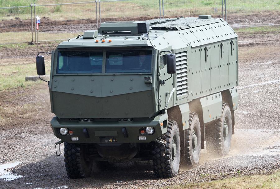 Ruski MRAP Kamaz typhoon-K