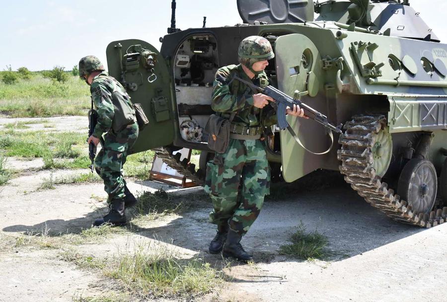Srbska vojaška vaja Morava-2016