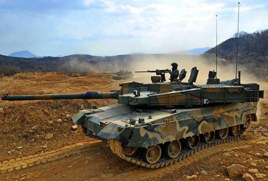 Južnokorejski tank K2 black panther