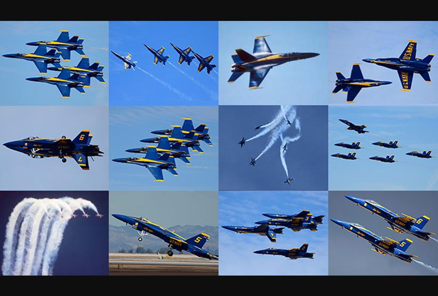 Akrobatska letalska skupina Blue Angels (F/A-18)