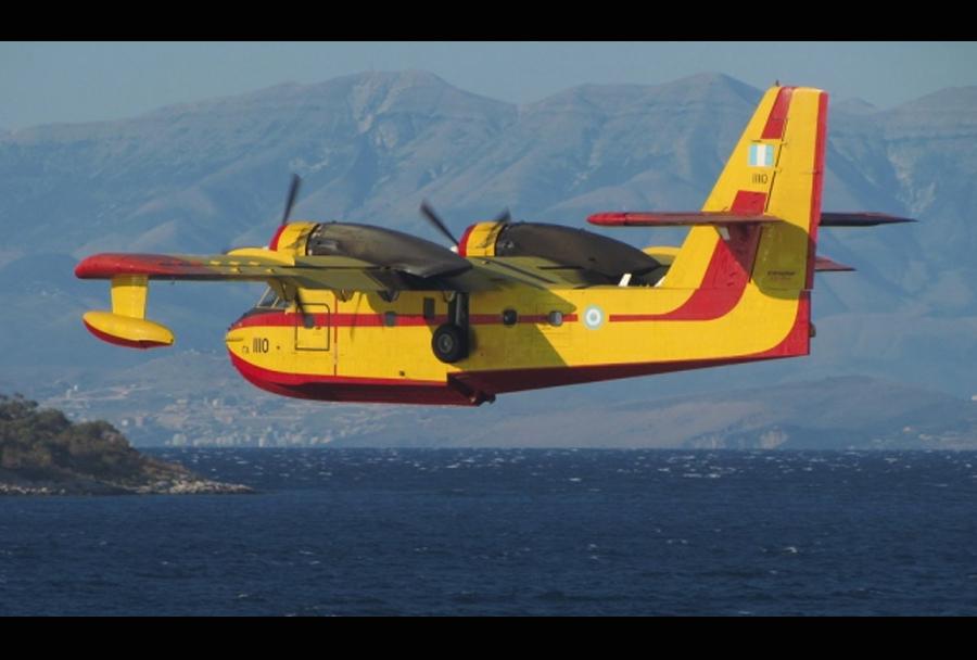 Grško letalo za gašenje požarov CL-215