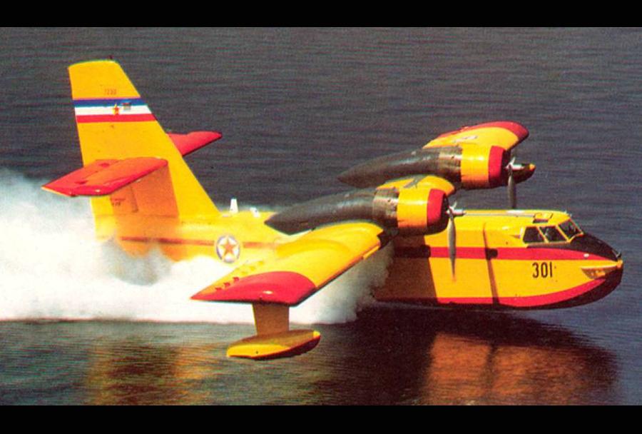 Jugoslovansko letalo za gašenje požarov CL-215