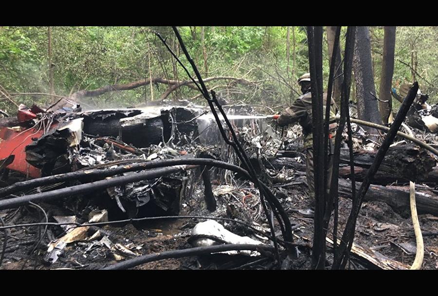 Nesreča letala Su-27 iz skupine Ruski vitezi