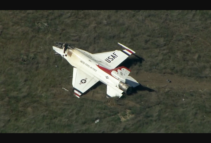 Nesreča lovca Thunderbirds F-16 (2.6.2016)