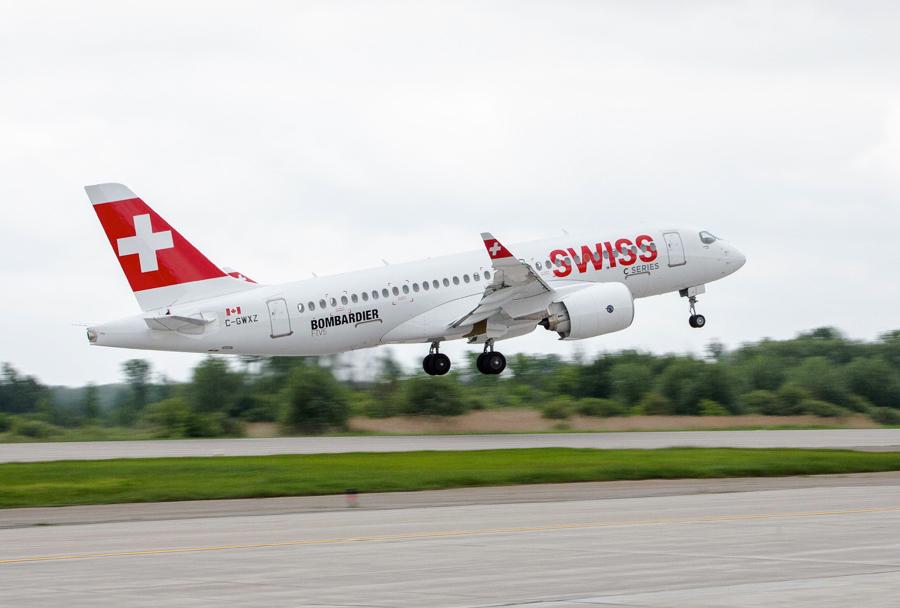 Potniško letalo Bombardier CS100