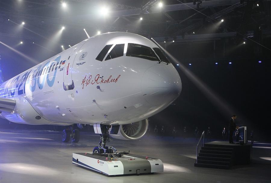 Novo rusko potniško letalo Irkut MS-21 - predstavitev