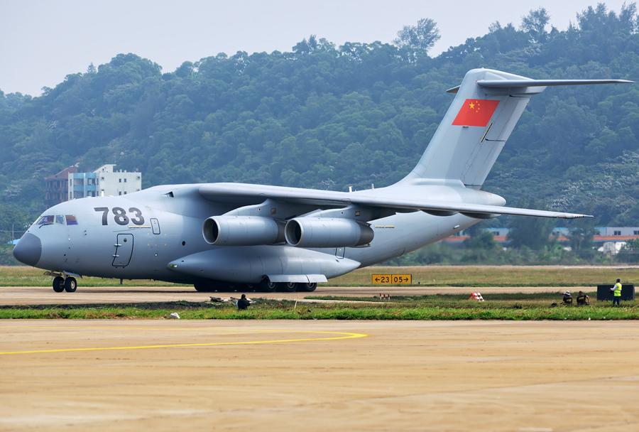 Kitajsko težko transportno letalo Xian Y-20