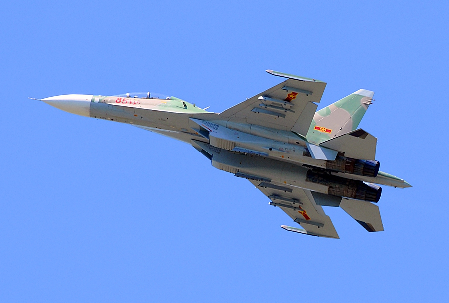 Vietnamski lovec Su-30MK2
