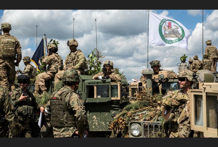Vojaška vaja Anakonda 2016
