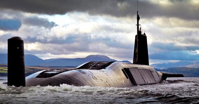Britanska balistična jedrska podmornica razreda vanguard