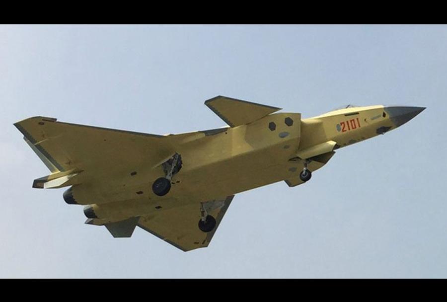 Kitajski lovec J-20 chengdu