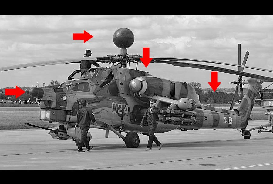 Jurišni helikopter Mi-28NE (in razlike napram Mi-28NM)