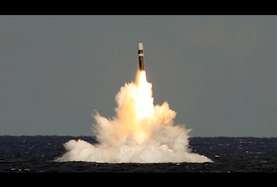 Podmorniški balistični izstrelek trident D5