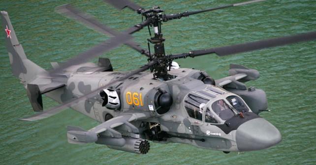 Ruski palubni helikopter Ka-52K