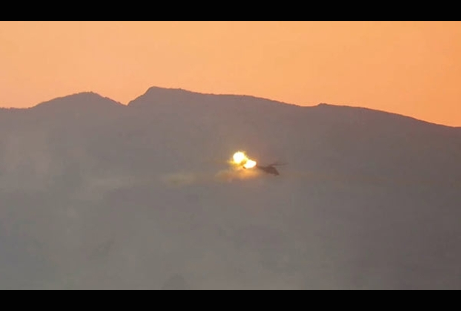 sestrelitev-helikopterja-Mi35-sirija-ISIS