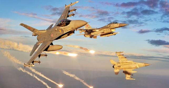 Turški lovci F-16
