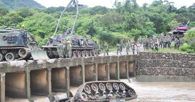 nesreca-tanka-CM-11-M48-patton-Tajvan