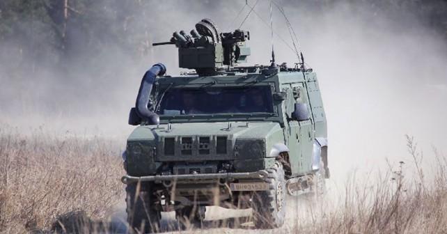 Oklepnik LMV 4x4 avstrijske vojske