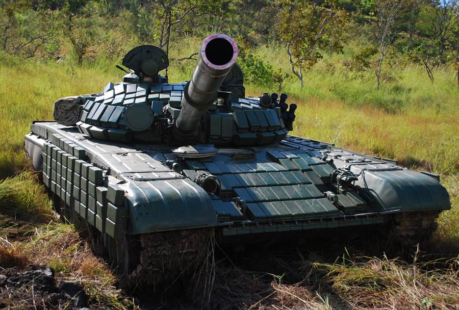 tank T-72B1