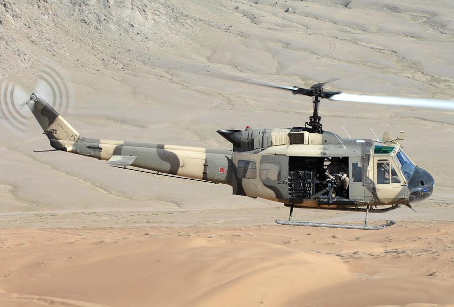 helikopter Bell UH-1 huey II