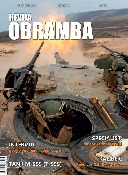 revija Obramba, oktober 2016