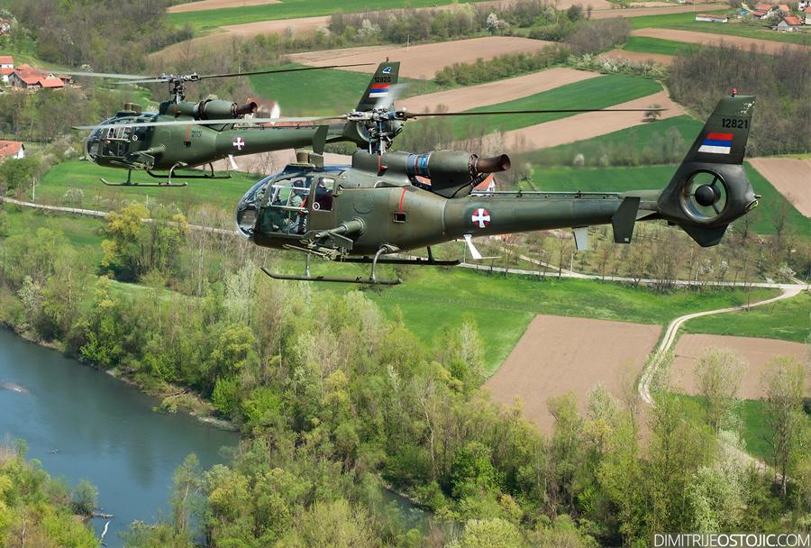 helikopter SOKO SA-342 gazela