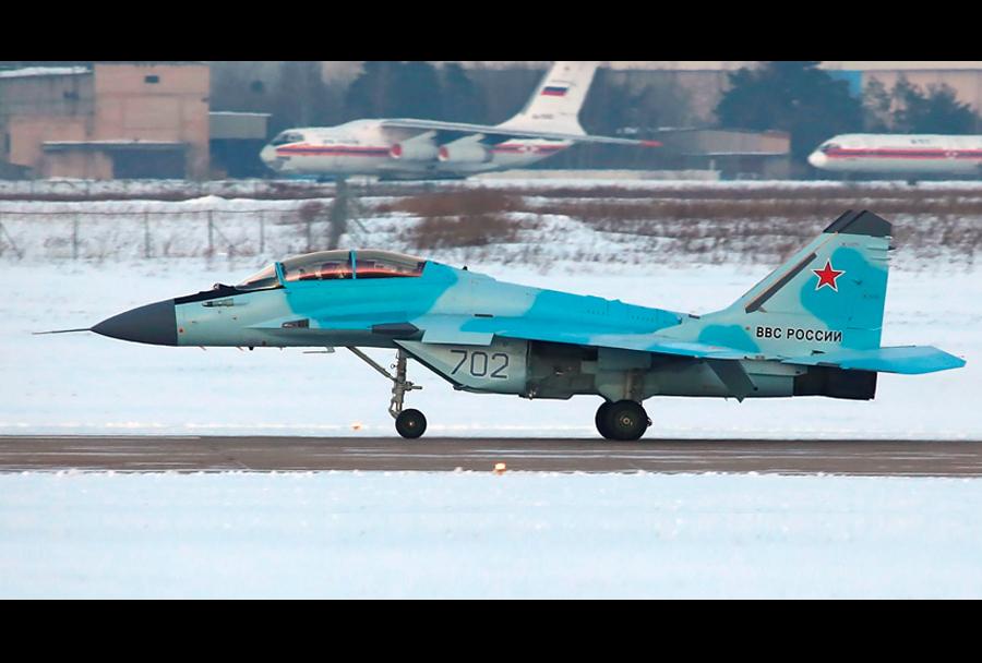 Testiranja lovca MiG-35.