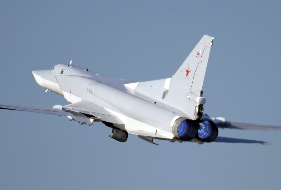 Bombnik Tu-22.