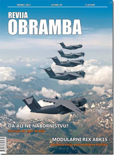 Revija Obramba, marec 2017