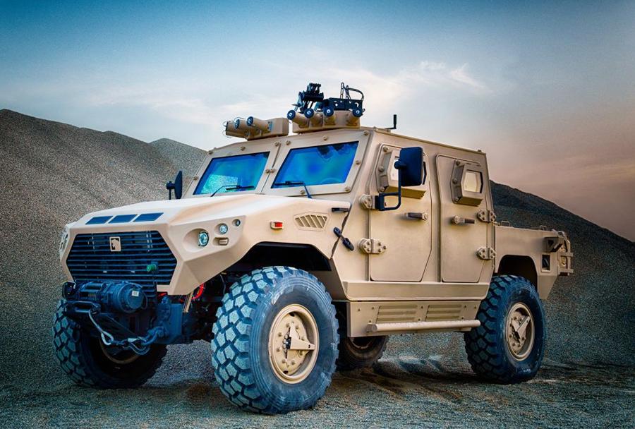 Oklepno vozilo Nimr AJBAN 4x4.