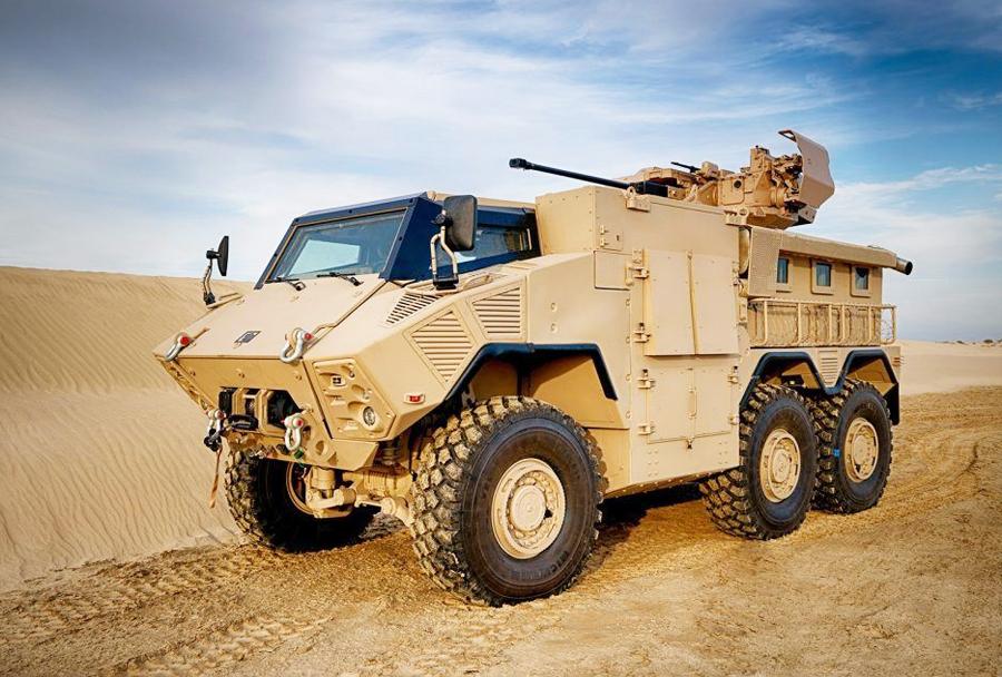Oklepno vozilo Nimr JAIS 6x6.