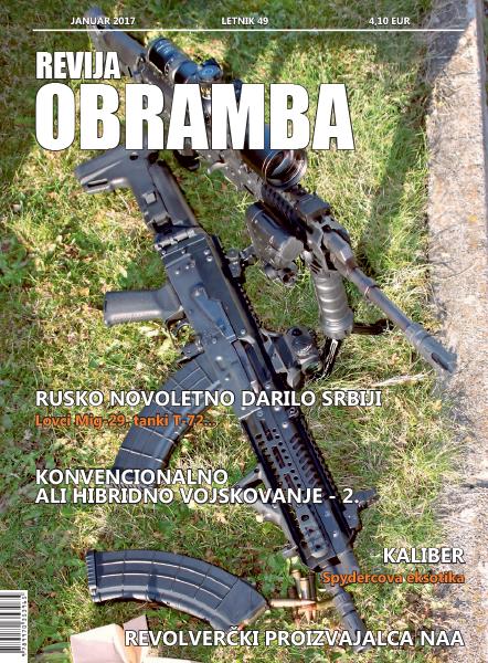 Revija Obramba, januar 2017