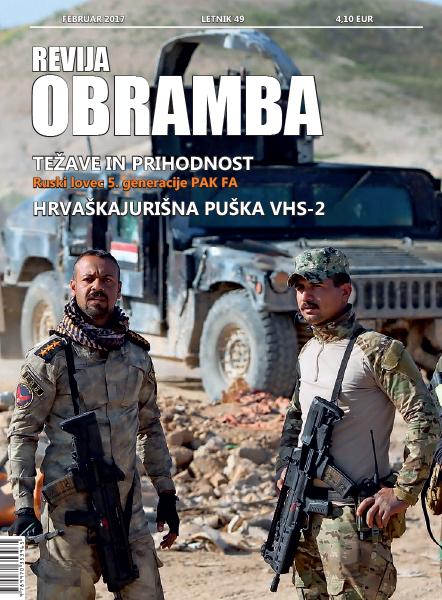 Revija Obramba, februar 2017