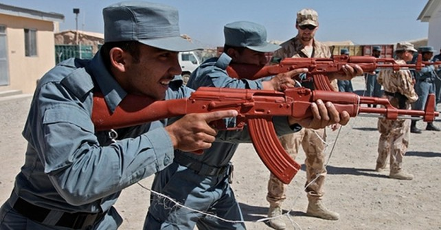 Afganistan AK-47 - urjenje