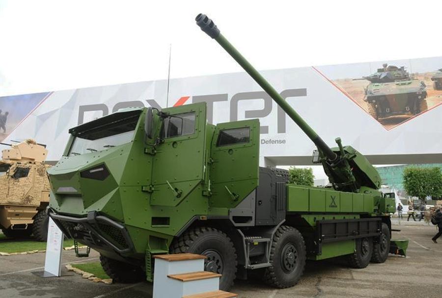 Samovozna havbica caesar 155mm 8x8.
