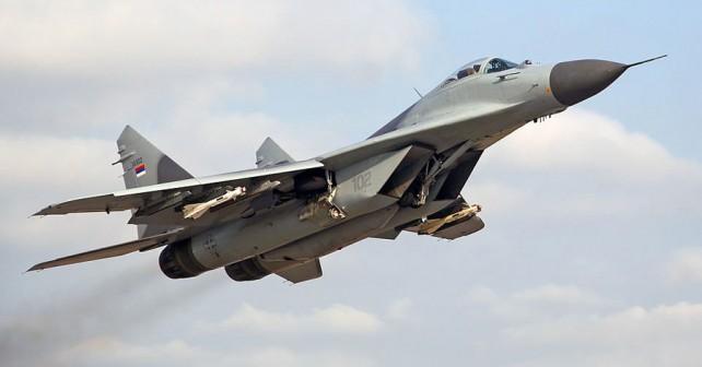 Srbski MiG-29