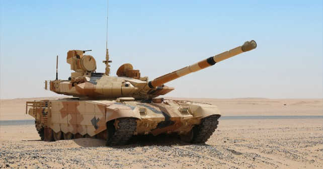 Glavni bojni tank T-90MS v Kuvajtu