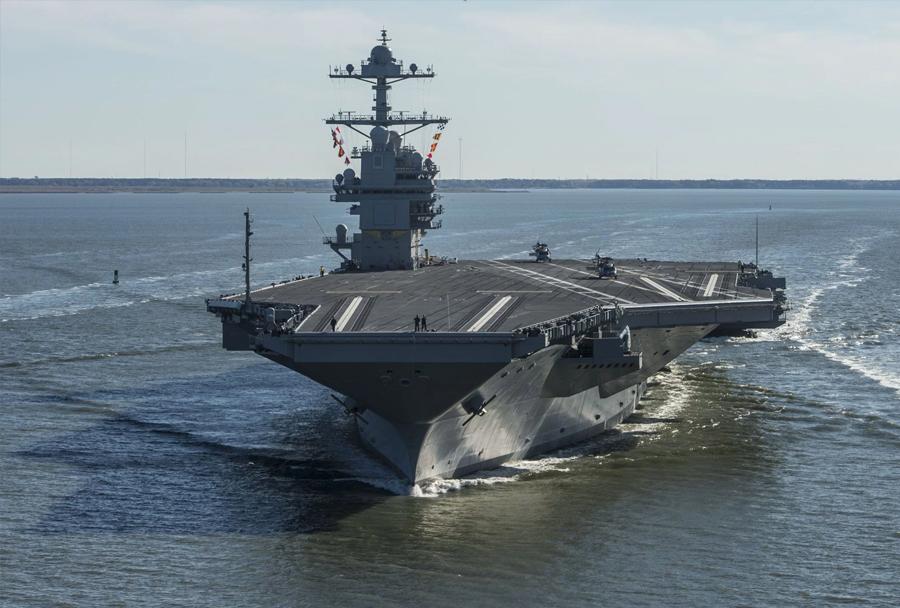 letalonosilka USS Gerald R. Ford (CVN 78)