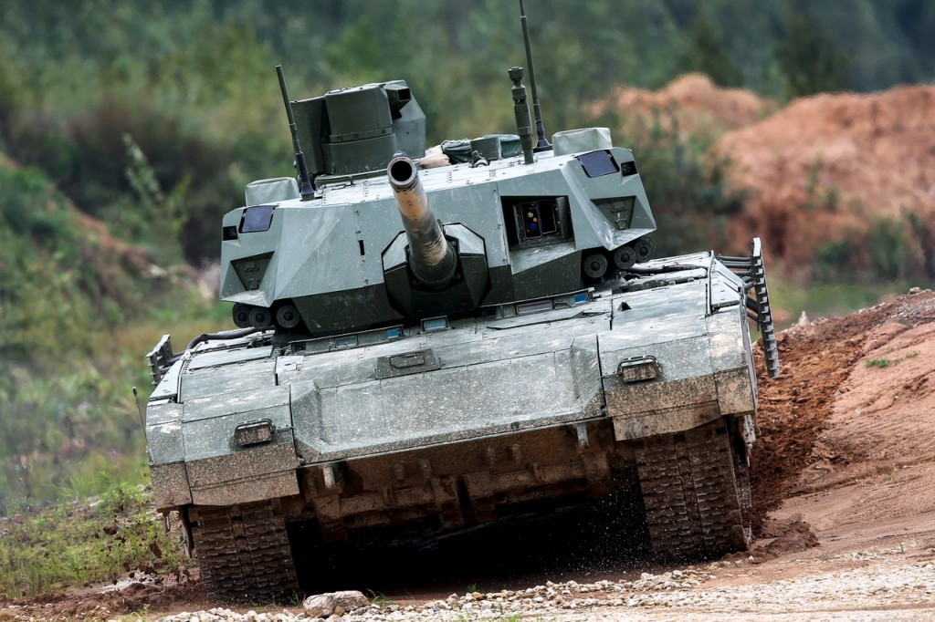 Tank T-14 armata.